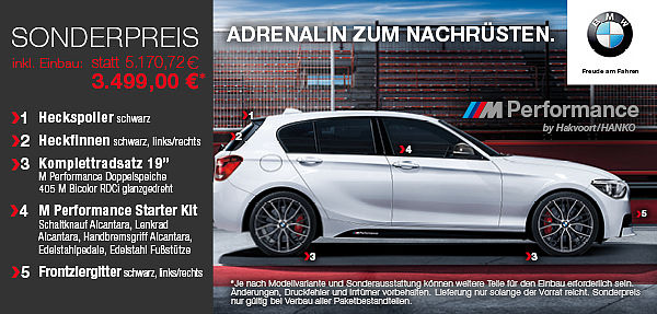 bmw m performance zubeh r hakvoort gmbh sankt augustin. Black Bedroom Furniture Sets. Home Design Ideas